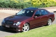 sell my car - mercedes benz maroon