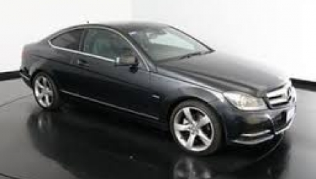 sell my car mercedes coupe black