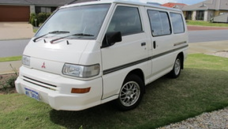 sell my car – mitsibishi express white
