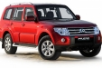 sell my car - mitsubish pajero red