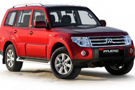 sell my car – mitsubish pajero red