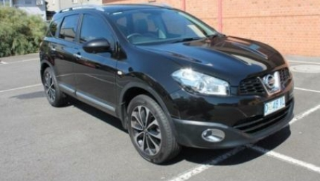 sell my car – nissan dualis black