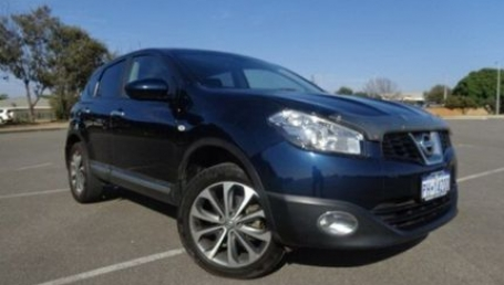 sell my car – nissan dualis blue