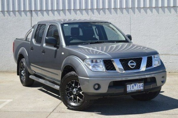 sell my car - nissan navara grey