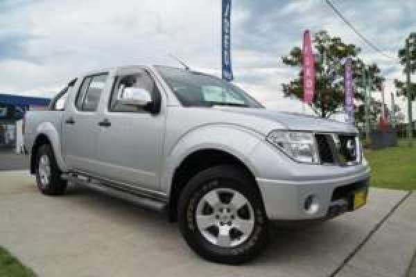 sell my car - nissan navara silver
