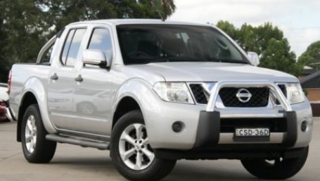 sell my car – nissan navara st silver