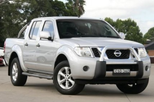 sell my car - nissan navara st silver