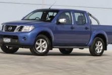 sell my car nissan navara ute blue