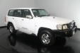 sell my car - nissan patrol white