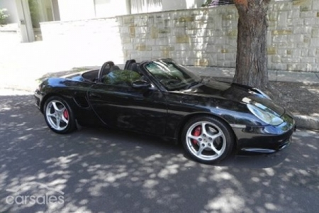 sell my car – porsche boxster black