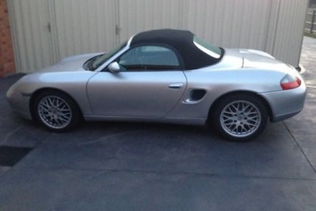 sell my car – porsche boxster silver