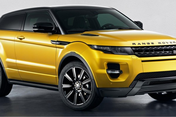 sell my car - range rover yellow