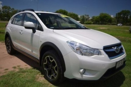 sell my car – subaru xv white