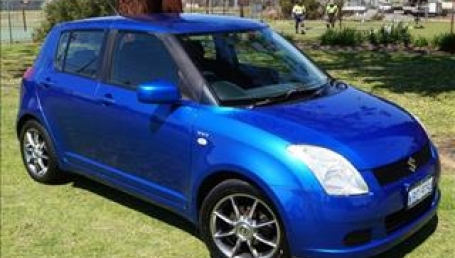 sell my car – suzuki swift blue