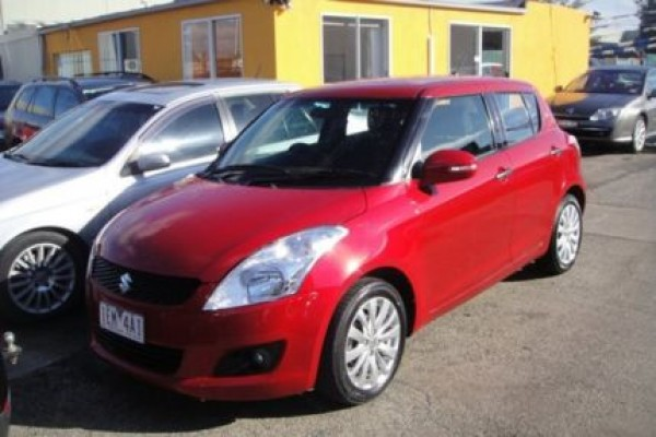 sell my car - suzuki swift red