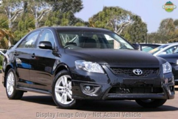 sell my car – toyota aurion black