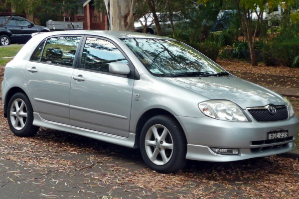 sell my car toyota corolla silver