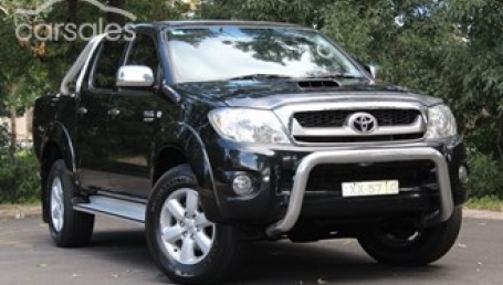 sell my car  – toyota hilux black