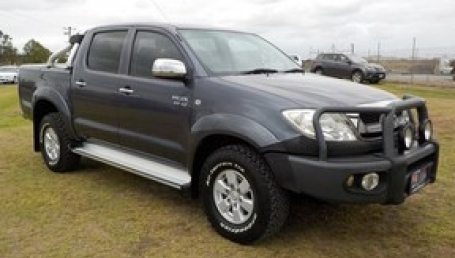 sell my car – toyota hilux grey