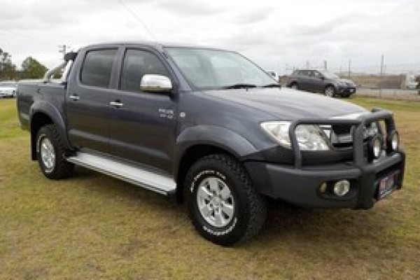 sell my car - toyota hilux grey