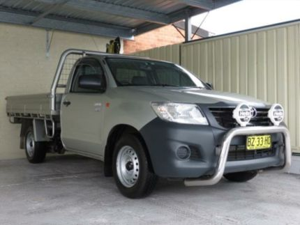 sell my car – toyota hilux silver