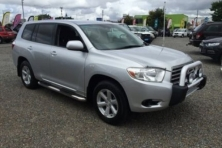 sell my car – toyota kluger  grey