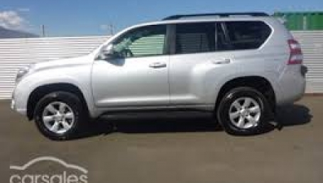 sell my car toyota landcruiser silver