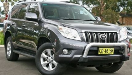 sell my car – toyota prado grey