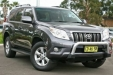 sell my car - toyota prado grey