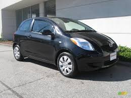 sell my car – toyota yaris black