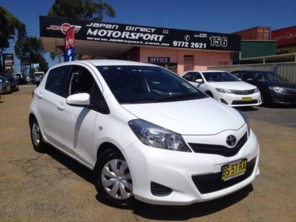 sell my car – toyota yaris white