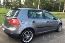 sell my car volkswagen golf grey