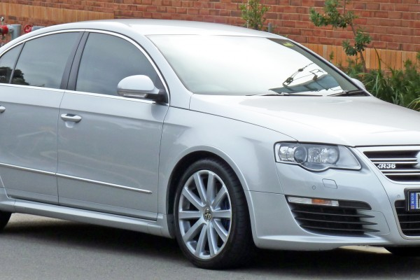 sell my car - volkswagen passet silver