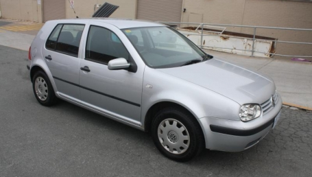 sell my car – volkswagon golf silver