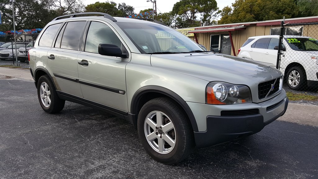sell my car – volvo xc90 silver