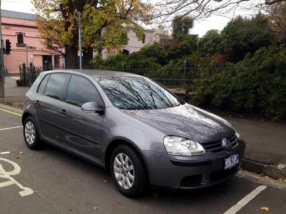 sell ym car - volkswagen gold grey