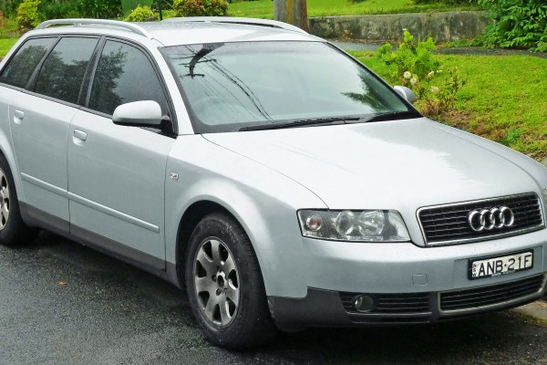 sell my car - audi a4 silver