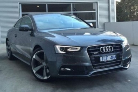 sell my car – audi a5 grey
