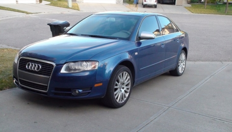 sell my car – audi blue