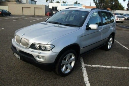 sell my car – bmw x5 silver