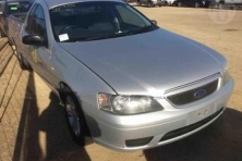sell my car – ford falcon silver