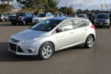 sell my car- ford focus silver