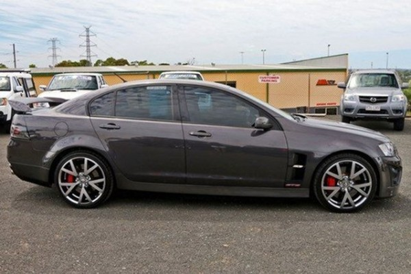 sell my car – holden HSV grey