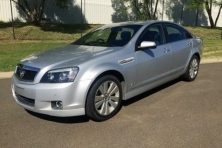 sell my car – holden caprice silver