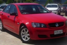 sell my car – holden commodore red