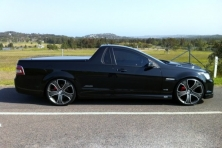sell my car – holden commodore ute black