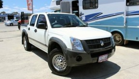 sell my car – holden rodeo white