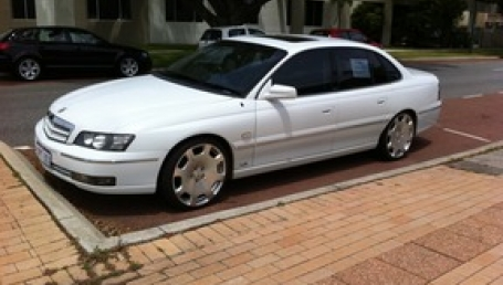 sell my car – holden statesman white