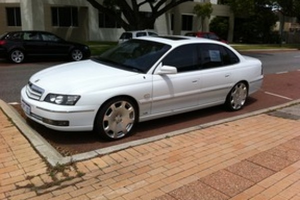 sell my car - holden statesman white