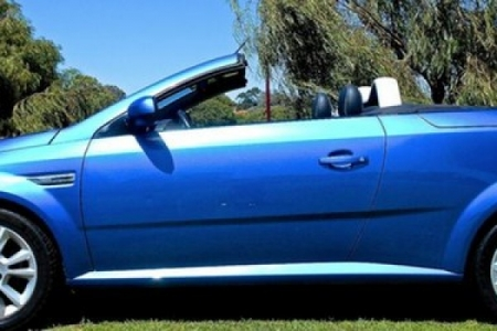 sell my car – holden tigra blue